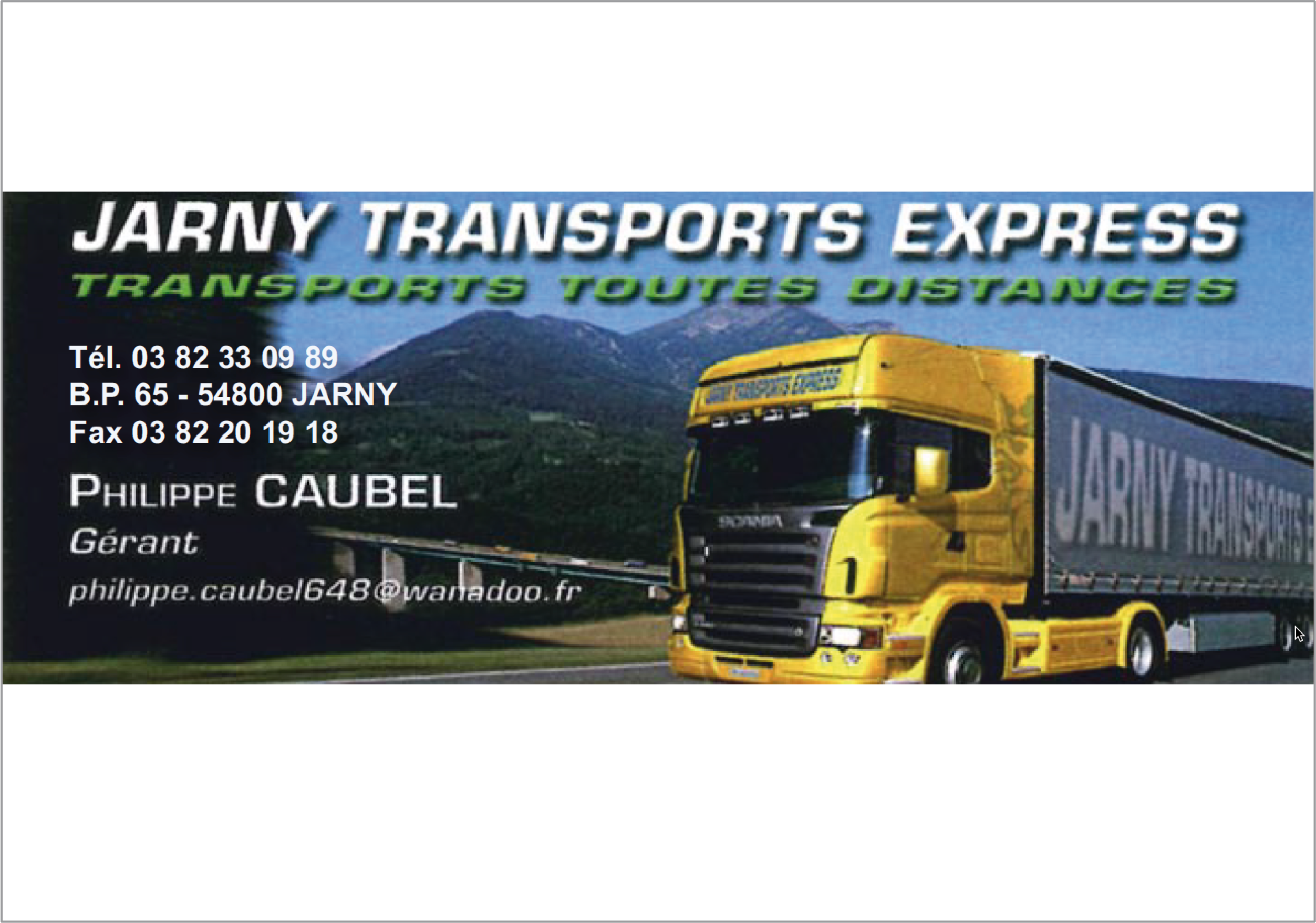 Jarny Transport